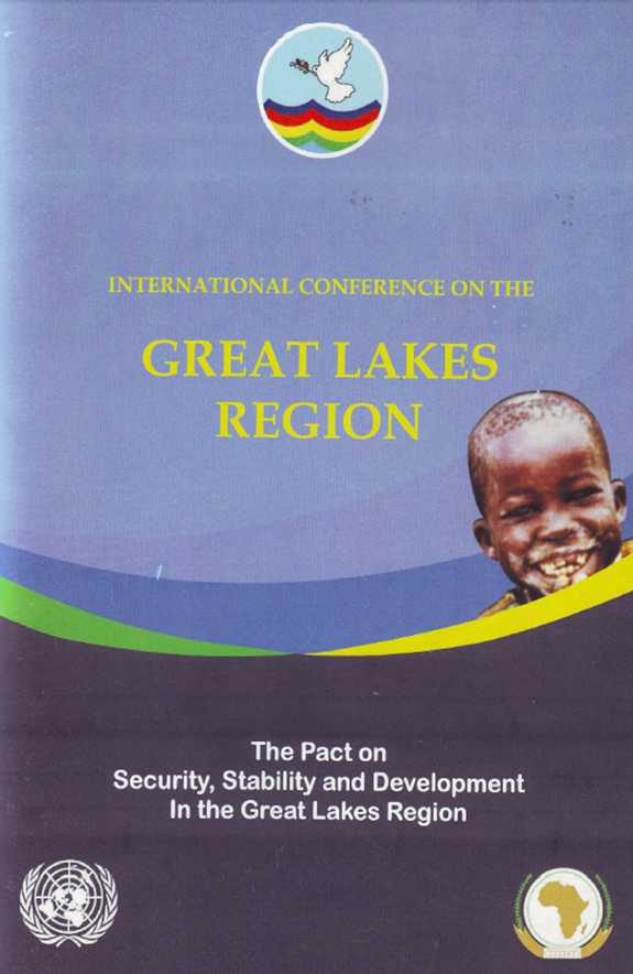 Cover of ICGLR (2012),  Pact on Security, Stability and Development For the Great Lakes Region.  December 2006 Amended November 2012.
