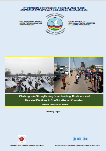 Cover of Challenges in Strengthening Peacebuilding, Resilience and Peaceful Elections in Conflict affected Countries: